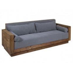 Sofá Rústico madera envejecida