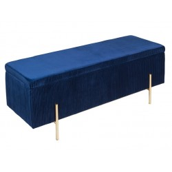 Banco moderno Azul