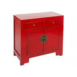Consola Oriental Vintage Roja