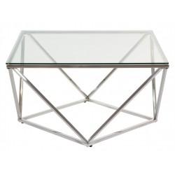 Mesa Centro Cristal Moderna...