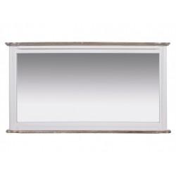 Espejo Grande Blanco Vintage