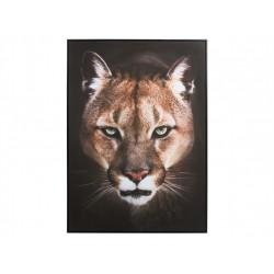 Cuadro leona grande