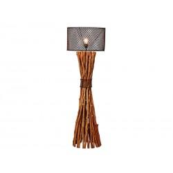 Lámpara pie troncos