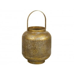 Lámpara Farol oro viejo