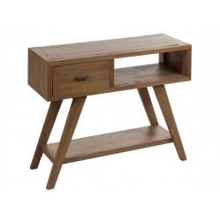 Recibidor madera escandinavo