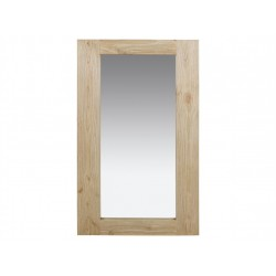 Espejo Menorca madera natural