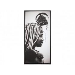 Cuadro Africano Mujer