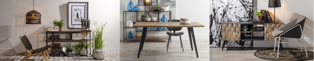 Muebles para salon comedor en nordicos
